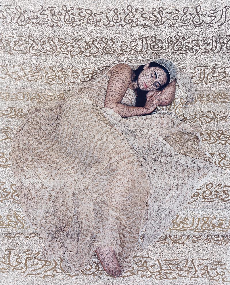 Exhibition details for: Lalla Essaydi, Les Femmes Du Maroc Revisited # 1, 2010