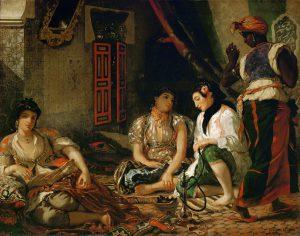 Eugene Delacroix, Les Femmes d'Algiers dans leur appartement, 1834