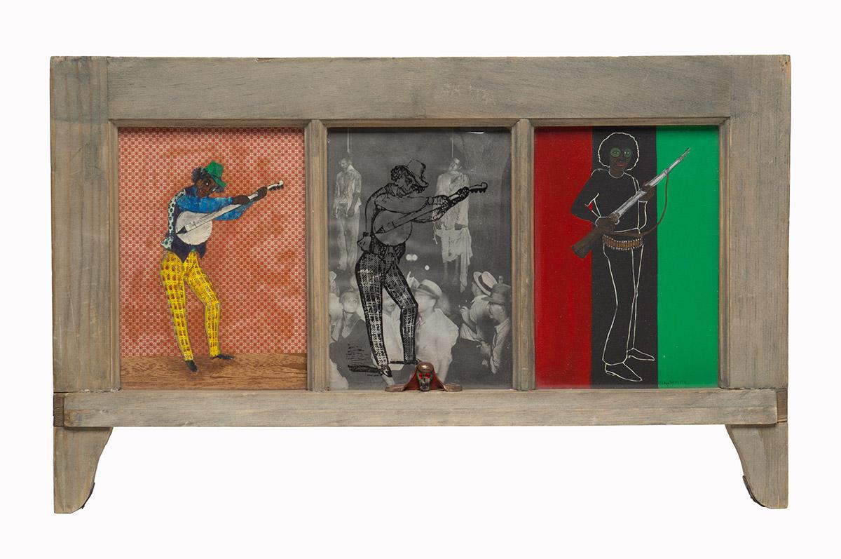 Betye Saar, Let Me Entertain You, 1972